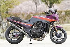 Racing Caf U00e8  Kawasaki Gpz 900 R By Shabon Dama