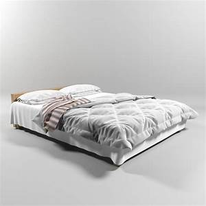 Free Bed Model For Blender Interiors  U2022 Blender 3d Architect