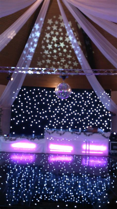 backdrops dance floor mirror ball  lighting