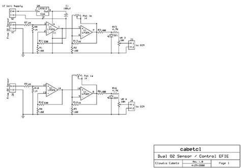 need help with circuit ecu controlled o2 sensor enhancer all about circuits