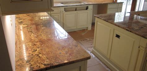 granite kitchen countertop island   top radius