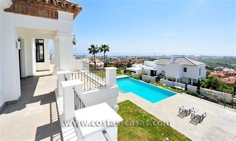 villa andalusian marbella estepona resort golf luxury between contemporary