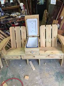 Adirondack Chair With Cooler Plans - Desk Chair Plan