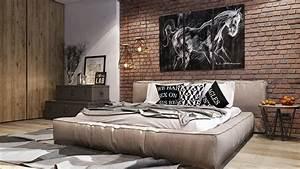 Tableau Deco Maison : chambre design 8 exemples de jolie chambre adulte ~ Teatrodelosmanantiales.com Idées de Décoration
