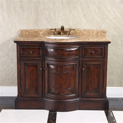 shop natural stone top   single sink vintage style