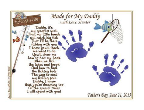 daddy teach  fishing personalized poem    art print