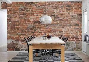 Papier Peint Mur De Brique Blanc Leroy Merlin by Brick Wall Decoration Ideas Decor Ideasdecor Ideas