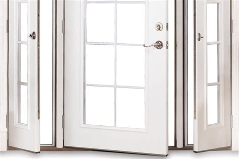 louvered pocket door therma tru vented sidelites builder magazine products