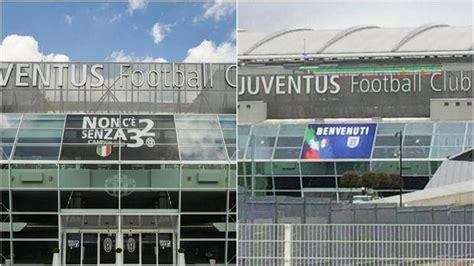 Juventus Stadium Ingresso by Juventus Stadium La Figc Copre Il Simbolo Dei 32
