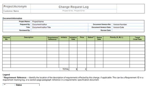 change log template change request log excel template 080315 0723 changecontr1