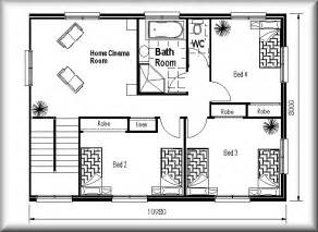 Sle House Designs And Floor Plans by Narrow And Shaped Land Design Floor Plans Small Land