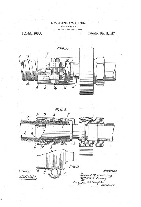 The Rotary Hose Coupling is patented   Dixon Valve US