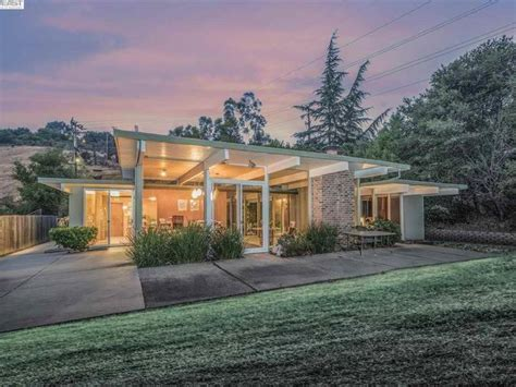 5 Eyecatching, Midcentury Modern Homes  Walnut Creek