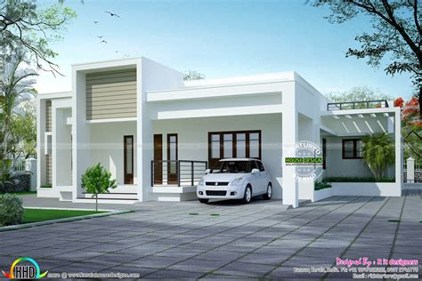 one floor house simple but beautiful one floor home kerala design