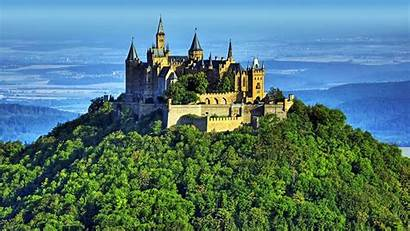 Castle Castles Wallpapers Nature Irish Landscape Mountain