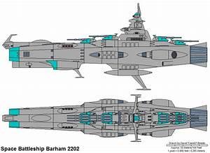 Star Blazers Fleet Battle Ship Diagrams