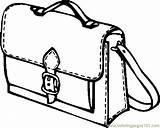 Coloring Bag Purse Colouring Bags Handbag Template Supplies Printable Coloringpages101 24kb 523px sketch template
