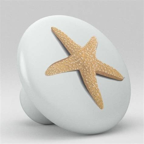 ceramic knobs for kitchen cabinets starfish ceramic knobs pulls kitchen drawer cabinet 8094