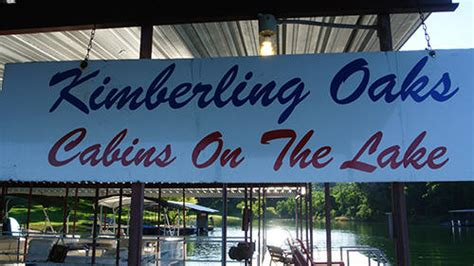 Boat Slip Rental Kimberling City Mo by Kimberling Oaks Resort On Table Rock Lake Near Branson