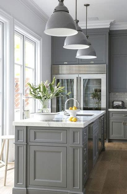 psychology   gray kitchen cabinets   popular