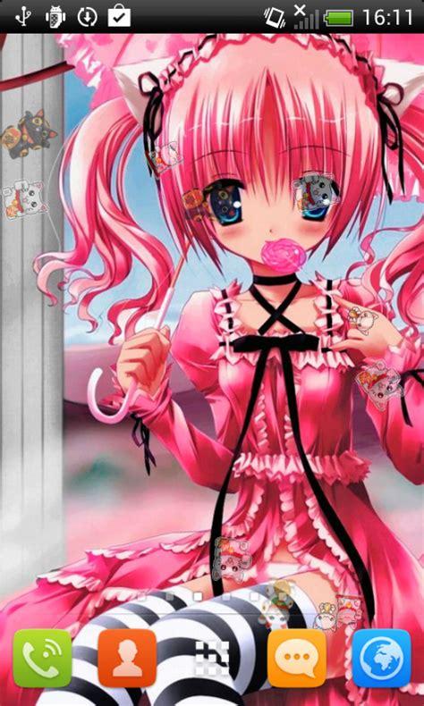anime neko girls  wallpaper apk