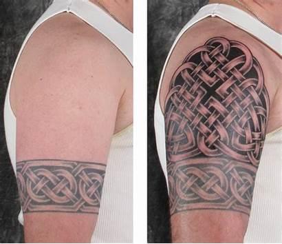 Celtic Sleeve Tattoos Tattoo Knot Band Half