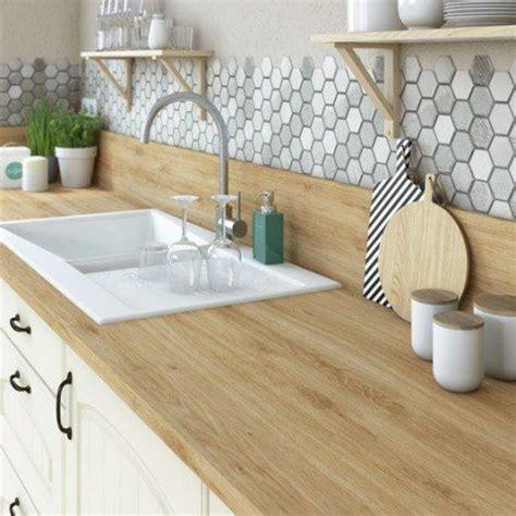 cuisine bois naturel merlin carreau rond and cuisine en bois on