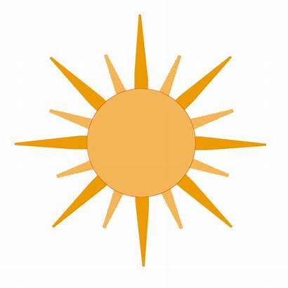 Sun Animated Cartoon Sunshine Clipart Moving Cliparts