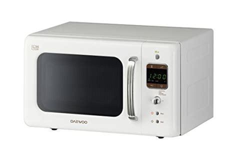 daewoo korlbkw retro style microwave oven     white