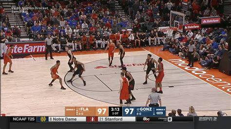 espns college basketball scorebug leaves  shot clock