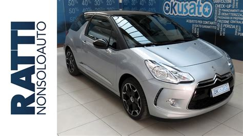 interni citroen ds3 coup 233 so chic 1 2 puretech 82cv benzina