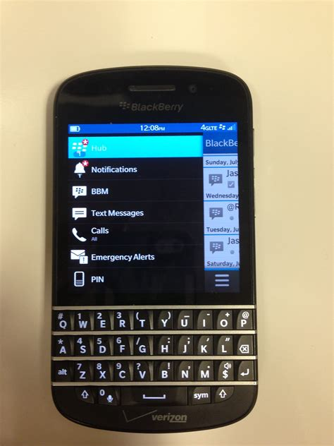 blackberry q10 on verizon wireless what bb fans been waiting for review