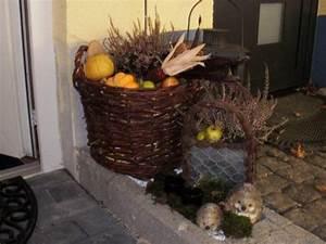 Deko Vor Haustür : deko 39 herbstdeko drau en 39 alles ist gut zimmerschau ~ Markanthonyermac.com Haus und Dekorationen