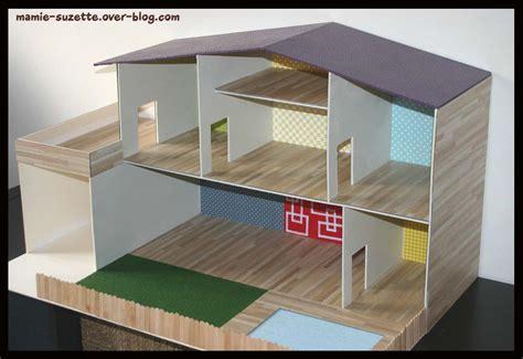 maison playmobil fait en cartonnage le de mamie suzette