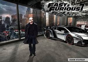 Jason Statham in Fast and Furious 7 by tilltheend on ...