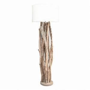 Luminaire En Bois Flotté : lampadaire bois flott boston vente lampadaire bois flott ~ Teatrodelosmanantiales.com Idées de Décoration