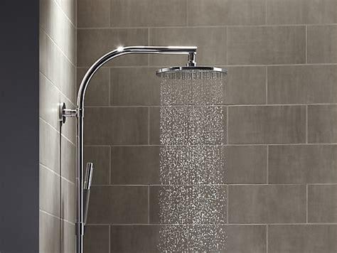 contemporary  rain showerhead  gpm