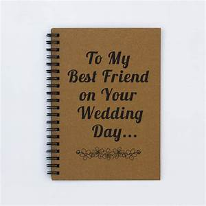 Best friend wedding gift to my best by flamingoroadjournals for Wedding gifts for best friend