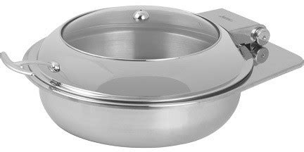 kitchen and accessories usa 2172 6 30 4 1 2 quart chafer induction 2172