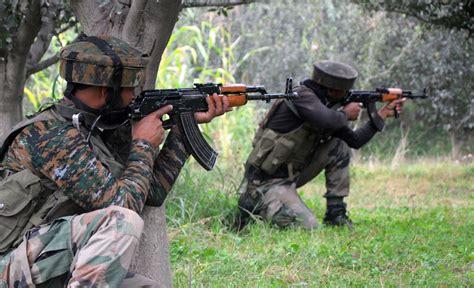 lay siege kashmir forces lay siege in kadlabal pore