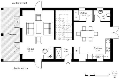 les 3 chambres plan maison à étage avec terrasse ooreka