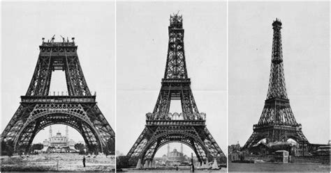Building The Icon Of Paris- These Photos Show The