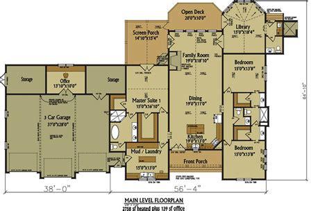 open living floor plans one rustic house plan design alpine lodge