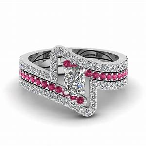 shop for latest twist swirl engagement rings at With cushion cut diamond wedding ring sets