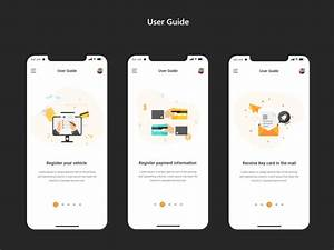User Guide Encharge App By Designza On Dribbble