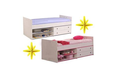 meuble chambre enfants lit mi hauteur avec rangement snoopy cbc meubles