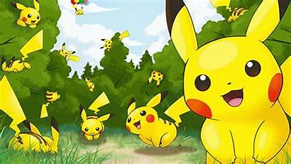 Pikachu Wallpapers Pokemon Laptop Awesome Backgrounds Cave