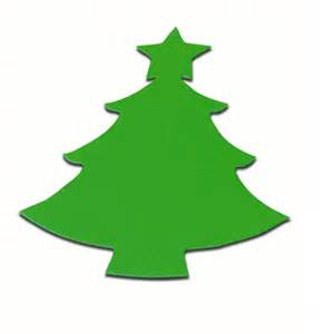stix 2 christmas tree die cut card shapes x 15 green
