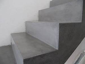 Beton Cire Treppe : beton unique beton cire beton cire betontreppe vor und nach beschichtung b den treppe ~ Indierocktalk.com Haus und Dekorationen