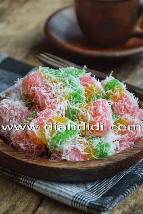 Resep kue bolu kukus pelangi : Diah Didi's Kitchen: Sentiling Warna Warni | Resep masakan, Masakan, Ide makanan